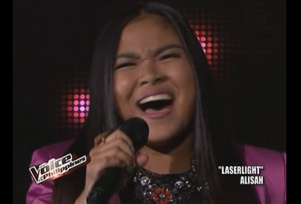 "Alisah Bonaobra belts out 'LaserLight' on ""The Voice PH"" Live Shows"