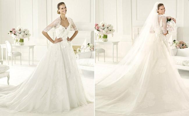 Contoh dan Model Gaun Pengantin Terbaru 2013