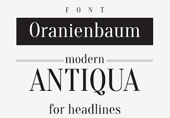 Günün Ücretsiz Fontu: Oranienbaum