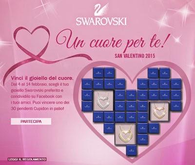 Concorso San Valentino Swarovski
