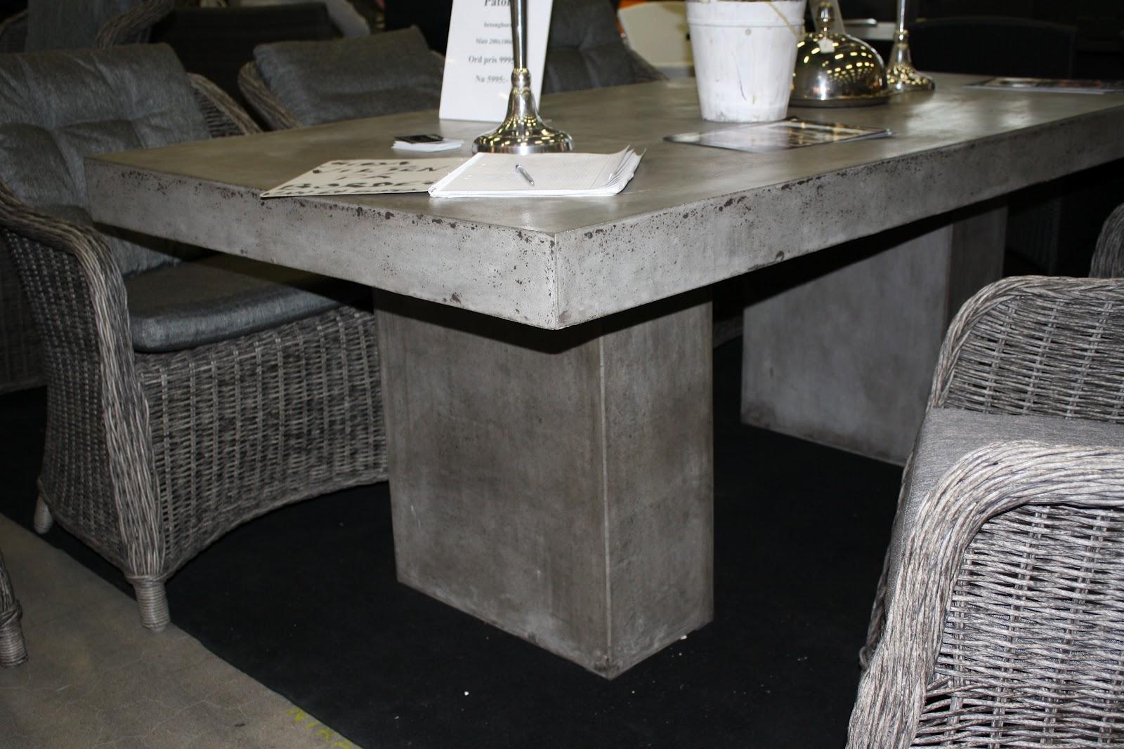 gjuta eget betongbord