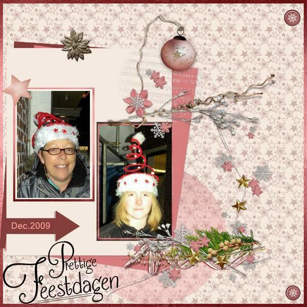 3e lo - Kerst mutsen