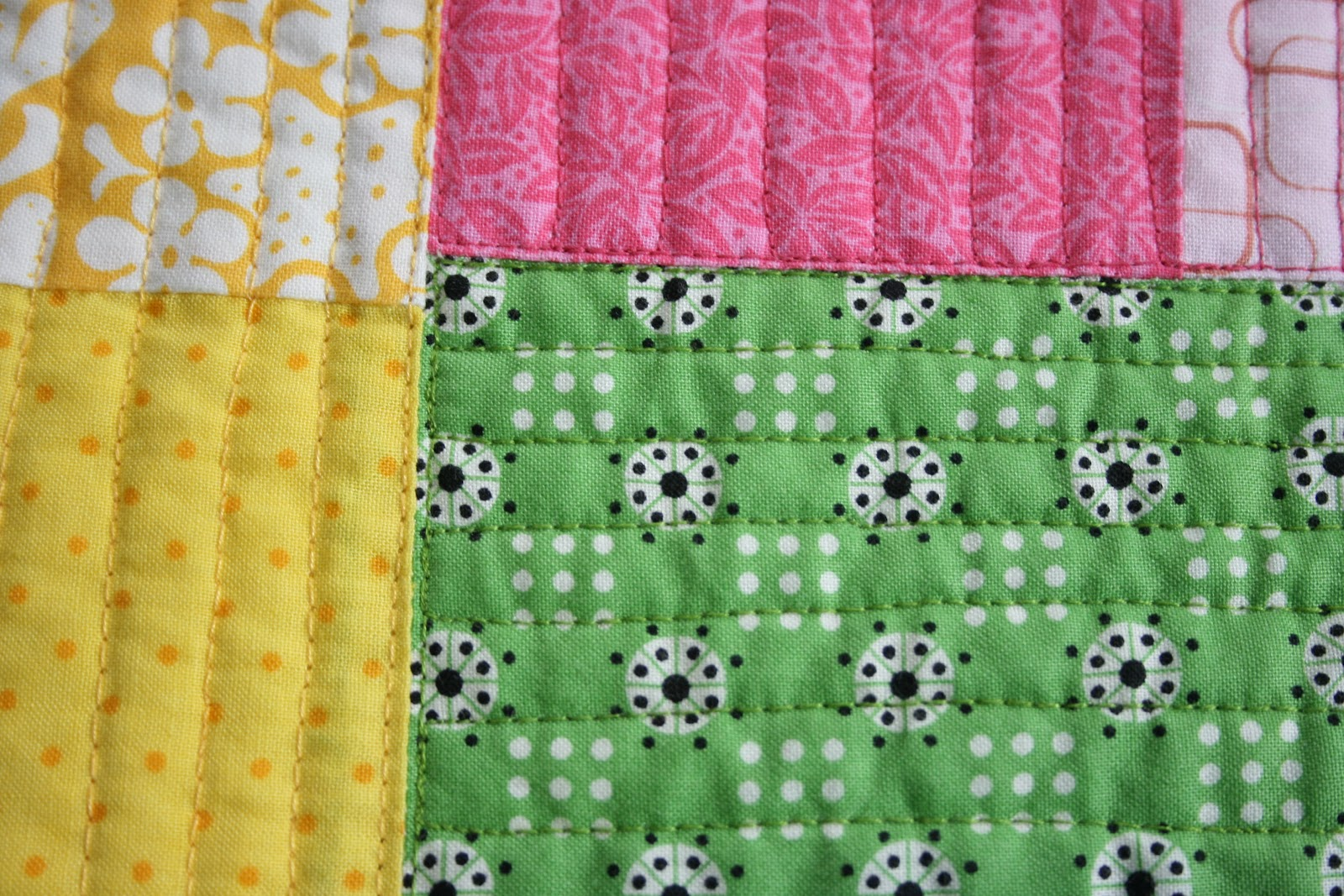 crazy mom quilts: straight line quilting with a free motion foot : quilting with a walking foot - Adamdwight.com