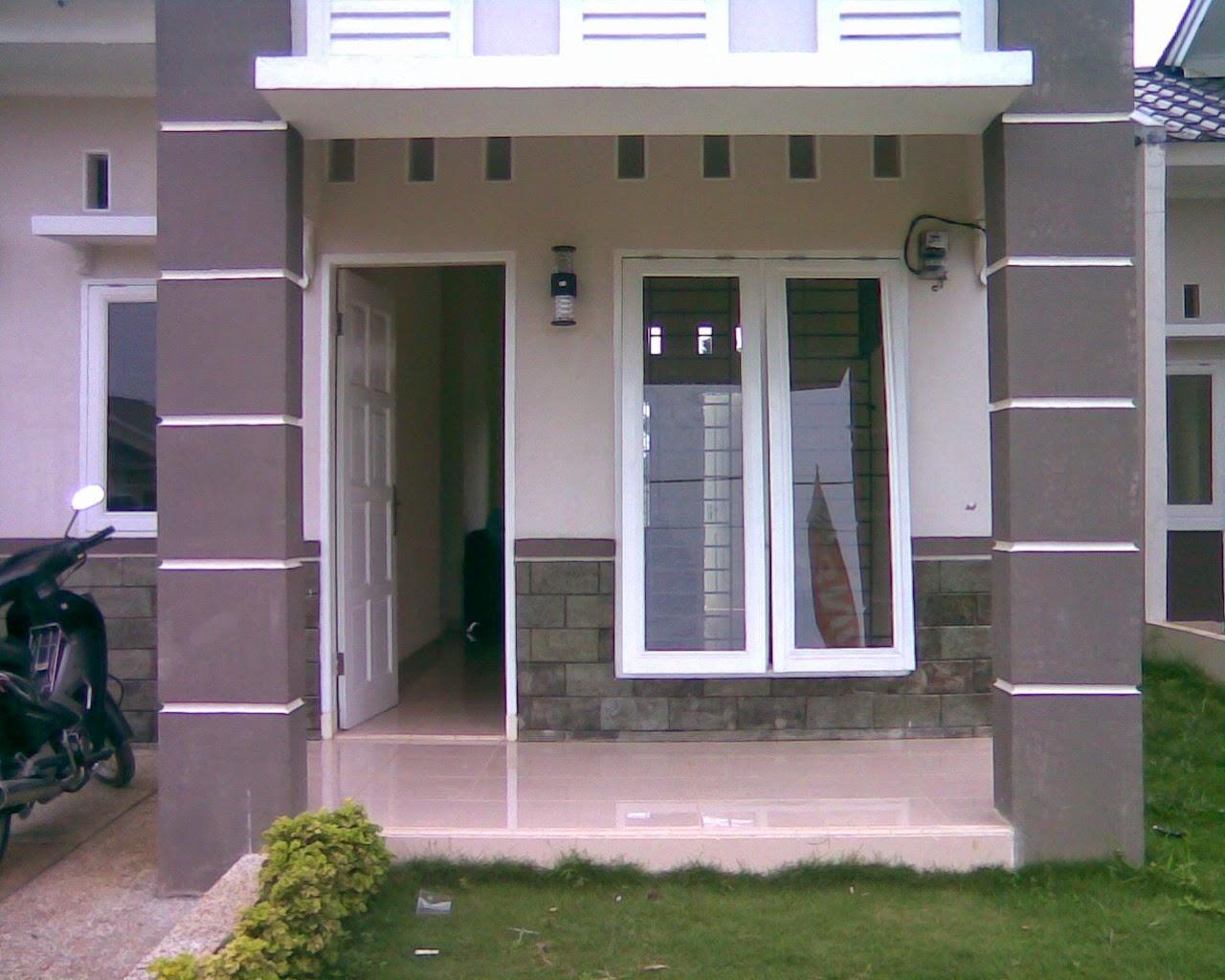 teras rumah modern minimalis