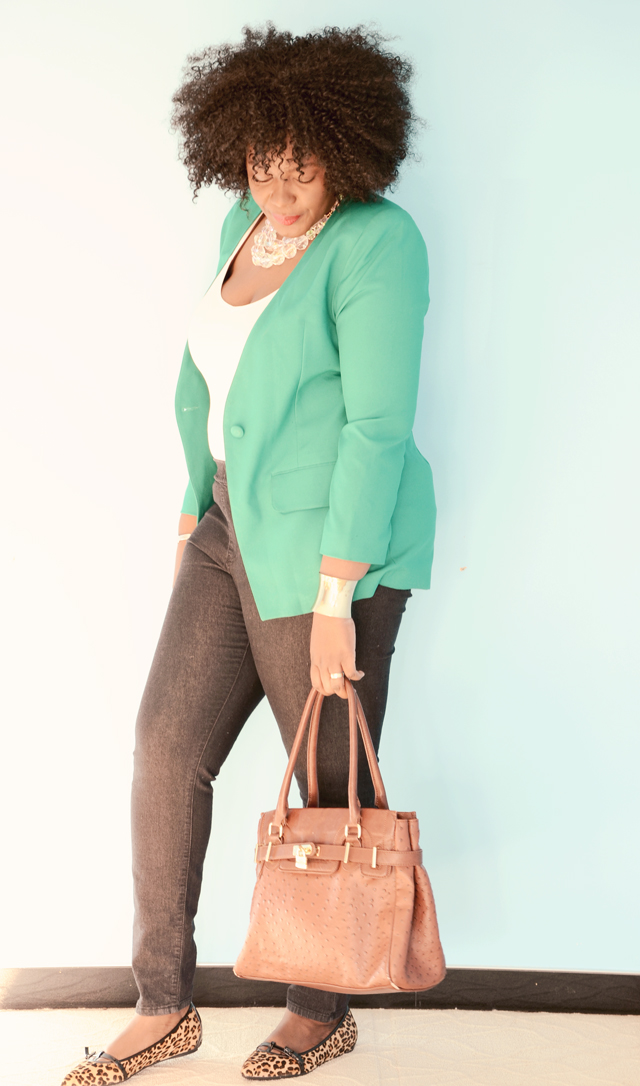 curvy fashion: how to style a blazer