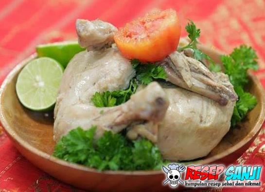 Membuat Ayam Pop Sederhana (Khas Padang)