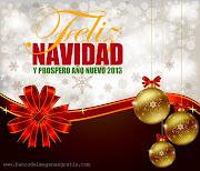 Feliz Navidad y Próspero Año Nuevo 2013Mensajes (postal con esferas mensaje para compartir en navidad nuevo)