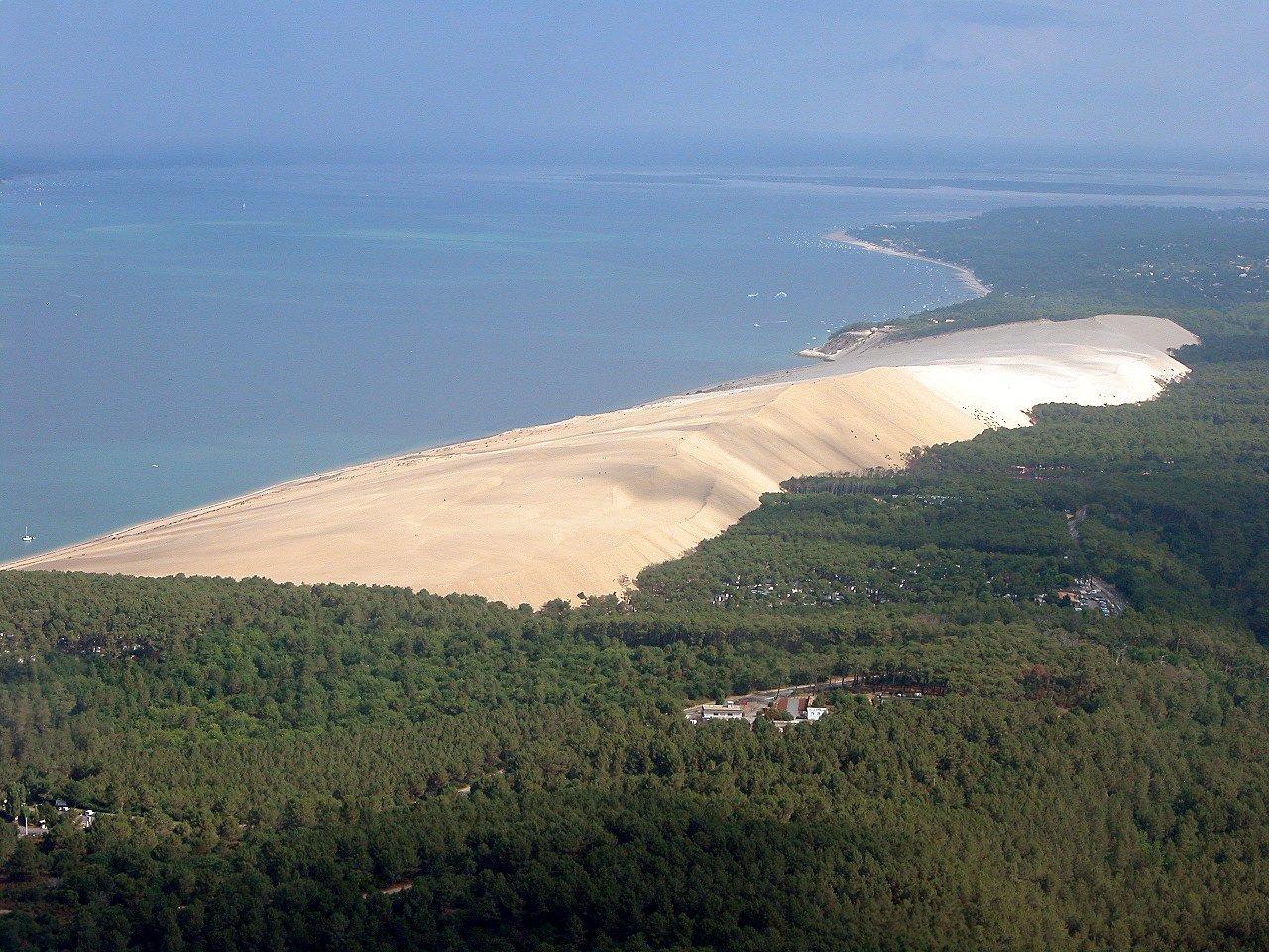 Le petit v lo de sylvain dune du pilat narbonne plage - Hotel dune du pilat starck ...