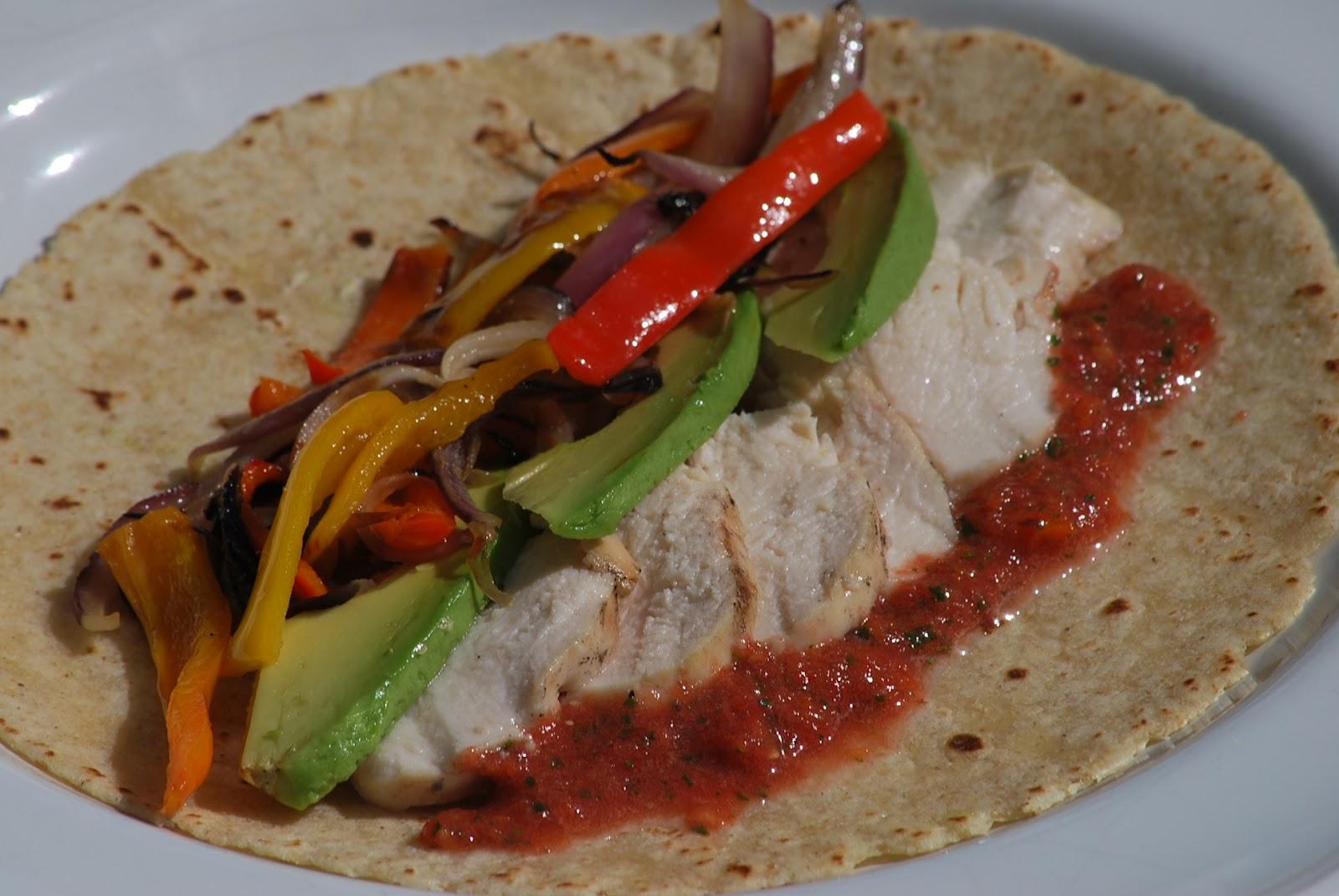 My story in recipes: Chicken Fajitas