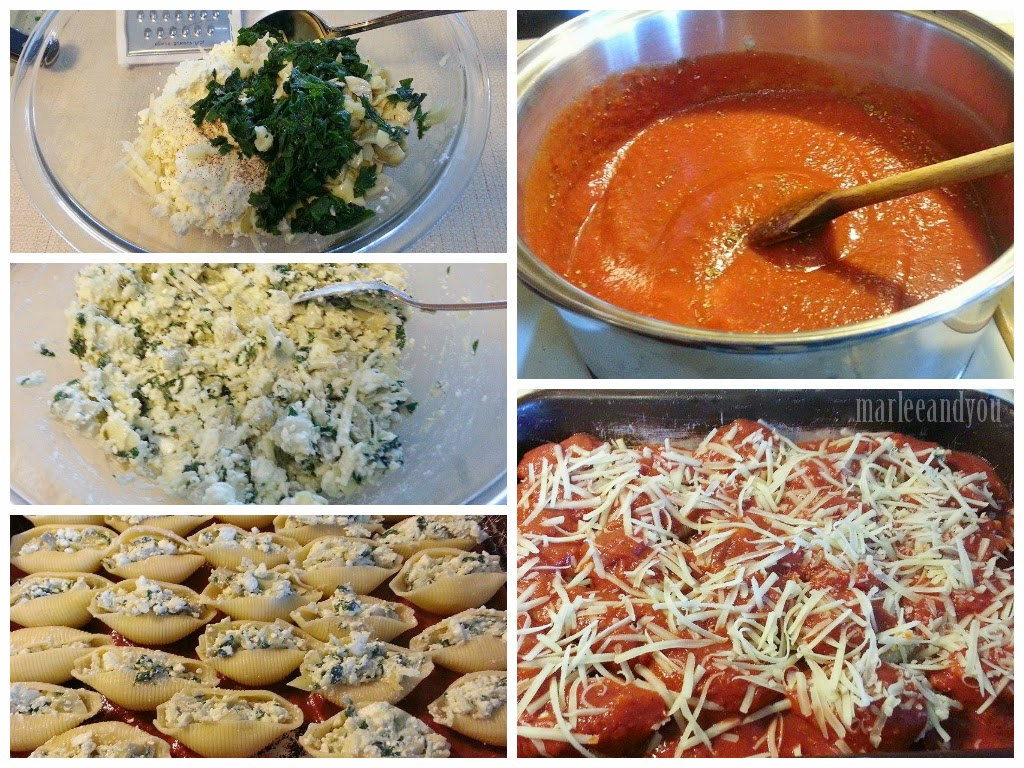 stuffed shells | marlee and you