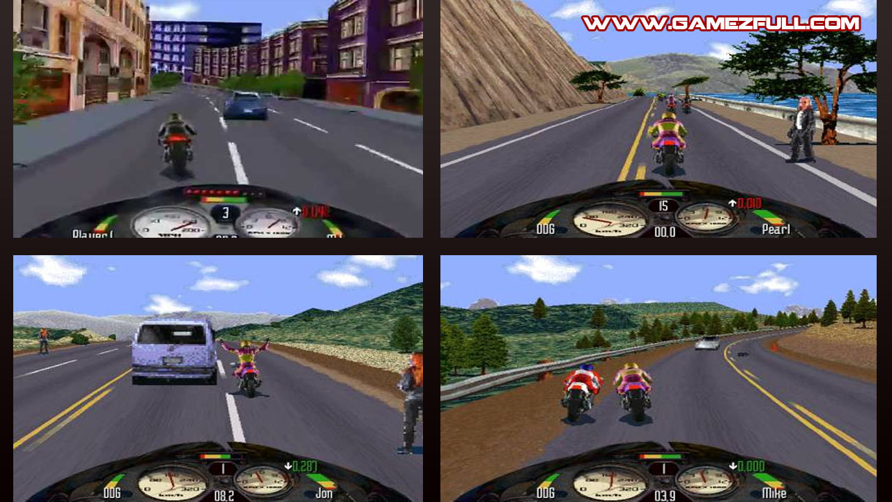 Road Rash 2002 Game - Free Download Full Version For Pc