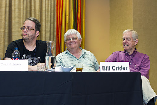 The Gorilla of the Gasbags story challenge panel at Armadillocon 2012