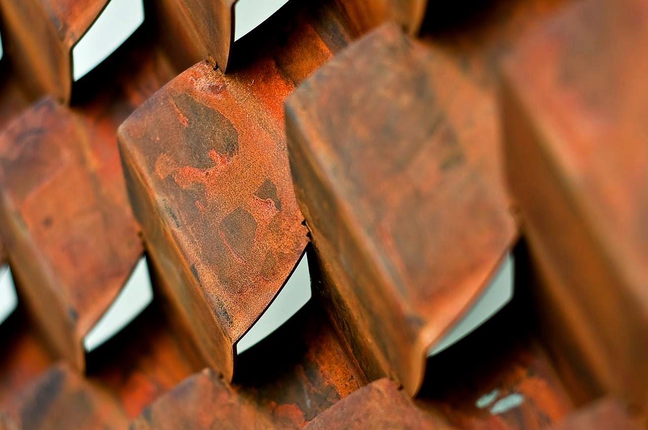Corten Steel Interclad Cladding System