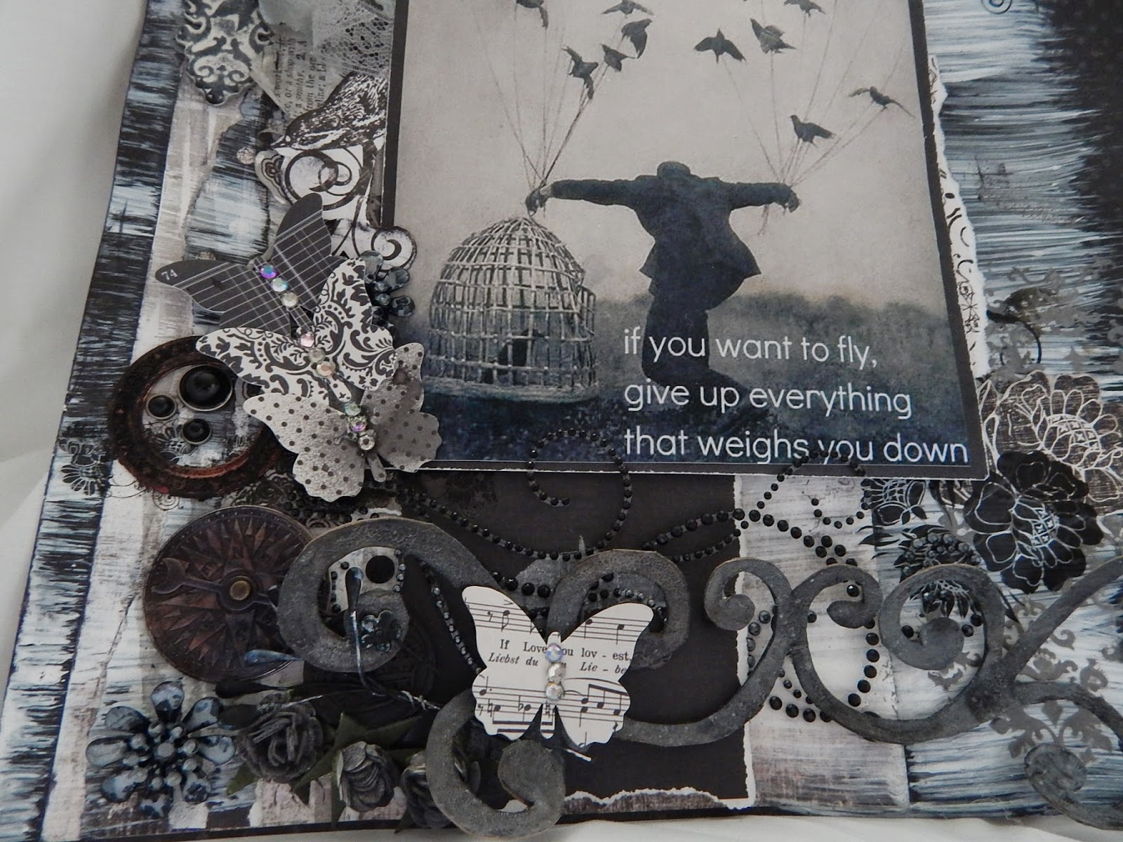 scrapbook page, scrapbook layout