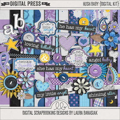 http://shop.thedigitalpress.co/Hush-Baby-Digital-Scrapbook.html