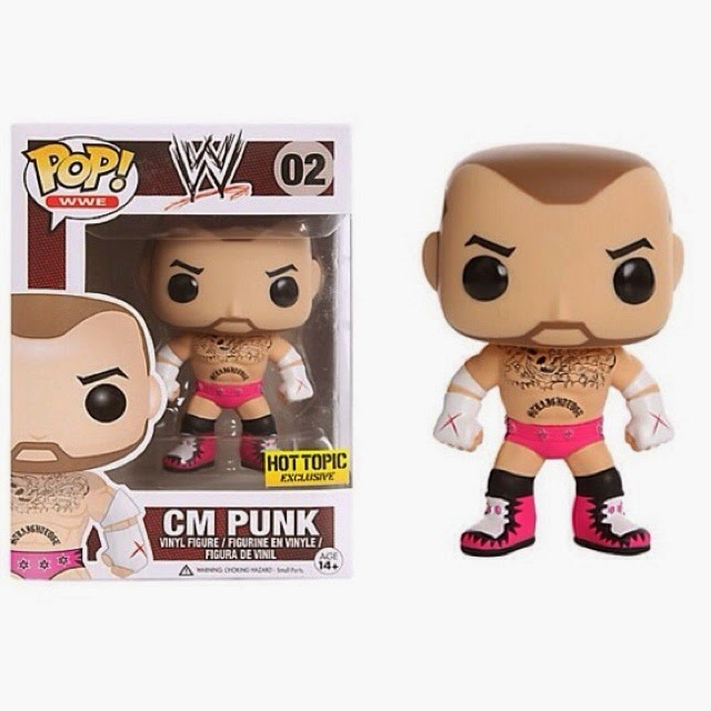Funko Pop! CM PUNK Hot Topic