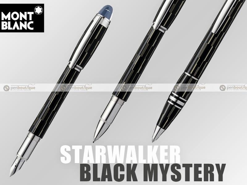 Montblanc Starwalker Black Mystery