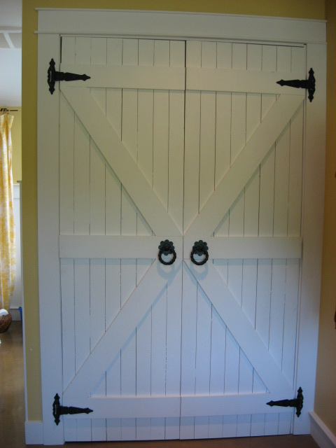 Redirecting for Barn style front door