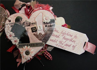 San Valentino mini album scrap