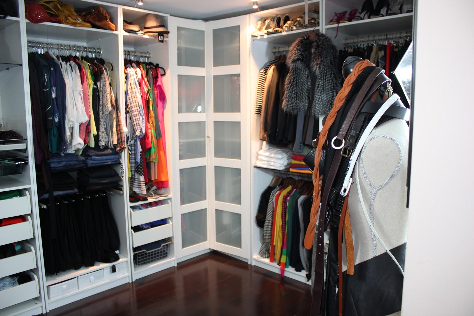 Diy closet organization beaute 39 j 39 adore for Ikea closet storage
