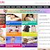 Template tin tức giải trí tổng hợp dành cho Blogspot full Mobi