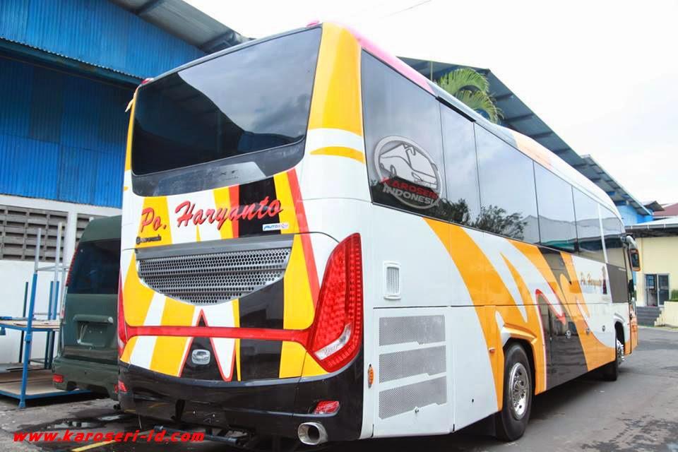Foto Bus PO Haryanto Evonext GT