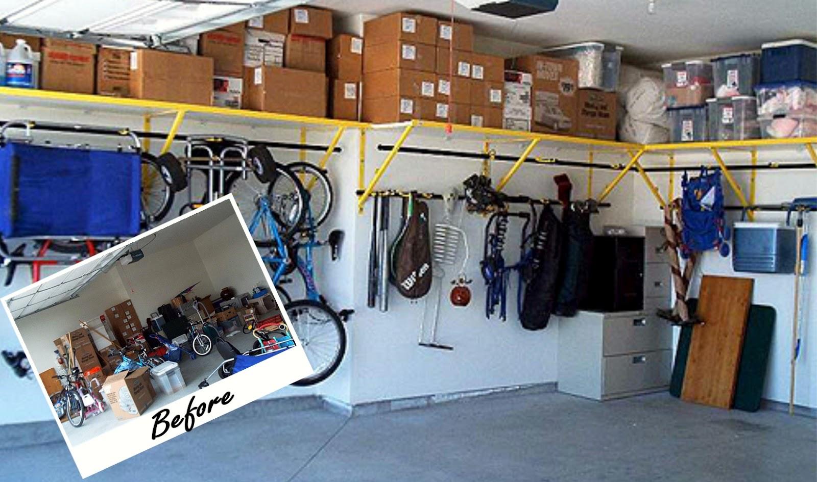 Удобные полки для гаража своими руками