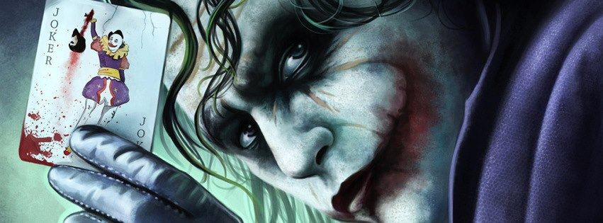 Batman Joker facebook cover