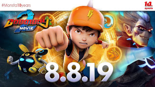 OST Boboiboy Movie 2|LIrik Lagu Fire And Water