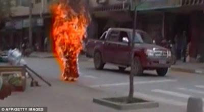 Monja Tibetana se Prende Fuego en Protesta contra China