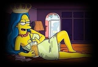 Marge Simpson Reina