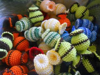 вязаные конфеты, crochet candy