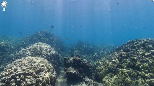 Google Maps Goes Underwater, Google Maps