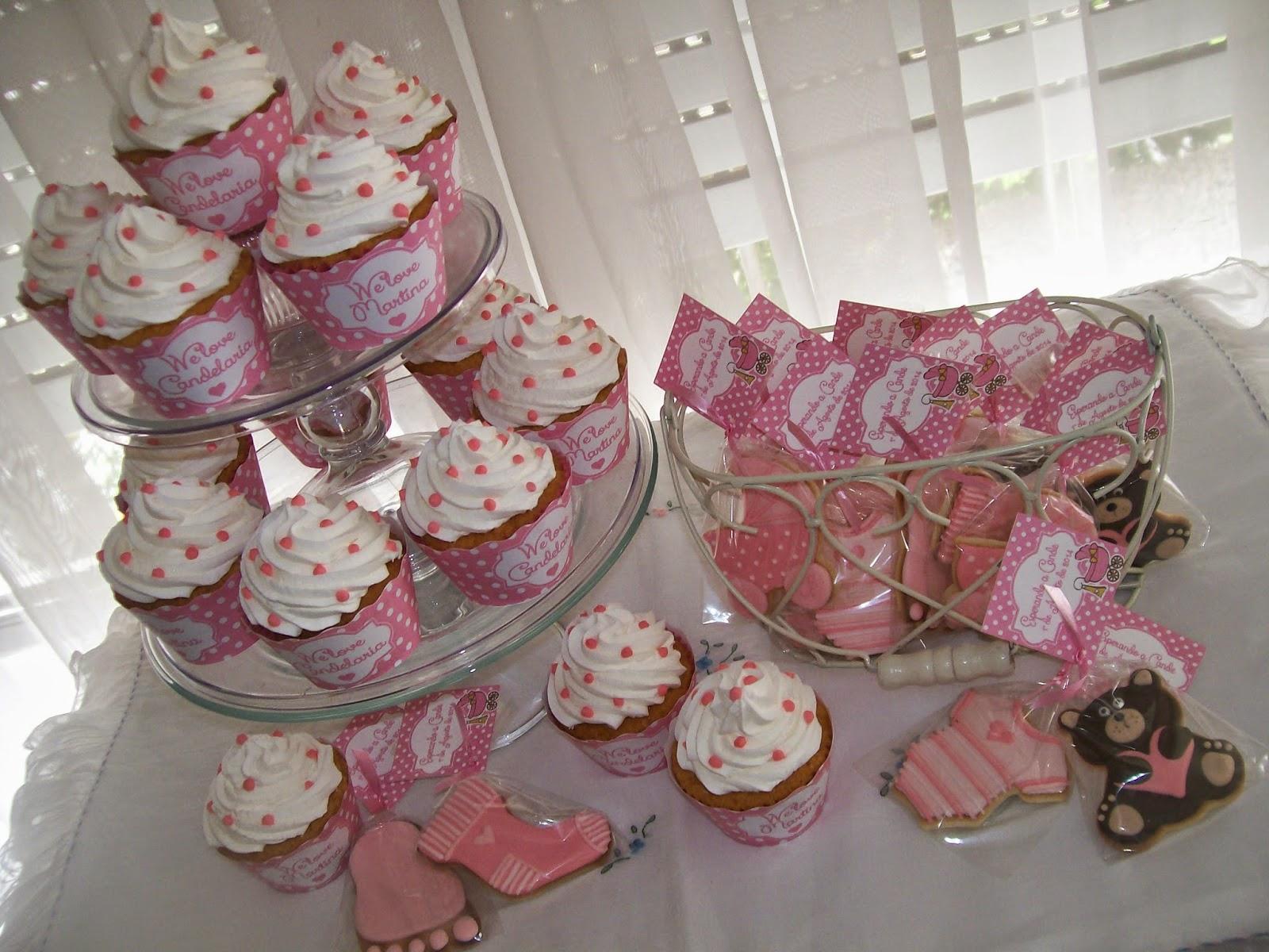 Dulces y colores baby shower para una ni a - Mesas dulces para ninas ...