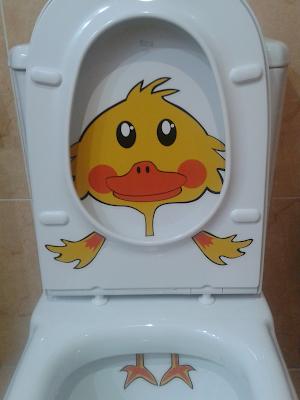 decoración baño niños