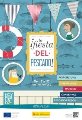 """""""¡La fiesta del pescado!"""", es el eslogan de la Semana que celebra el Ministerio del 17 al 22 de nov"""