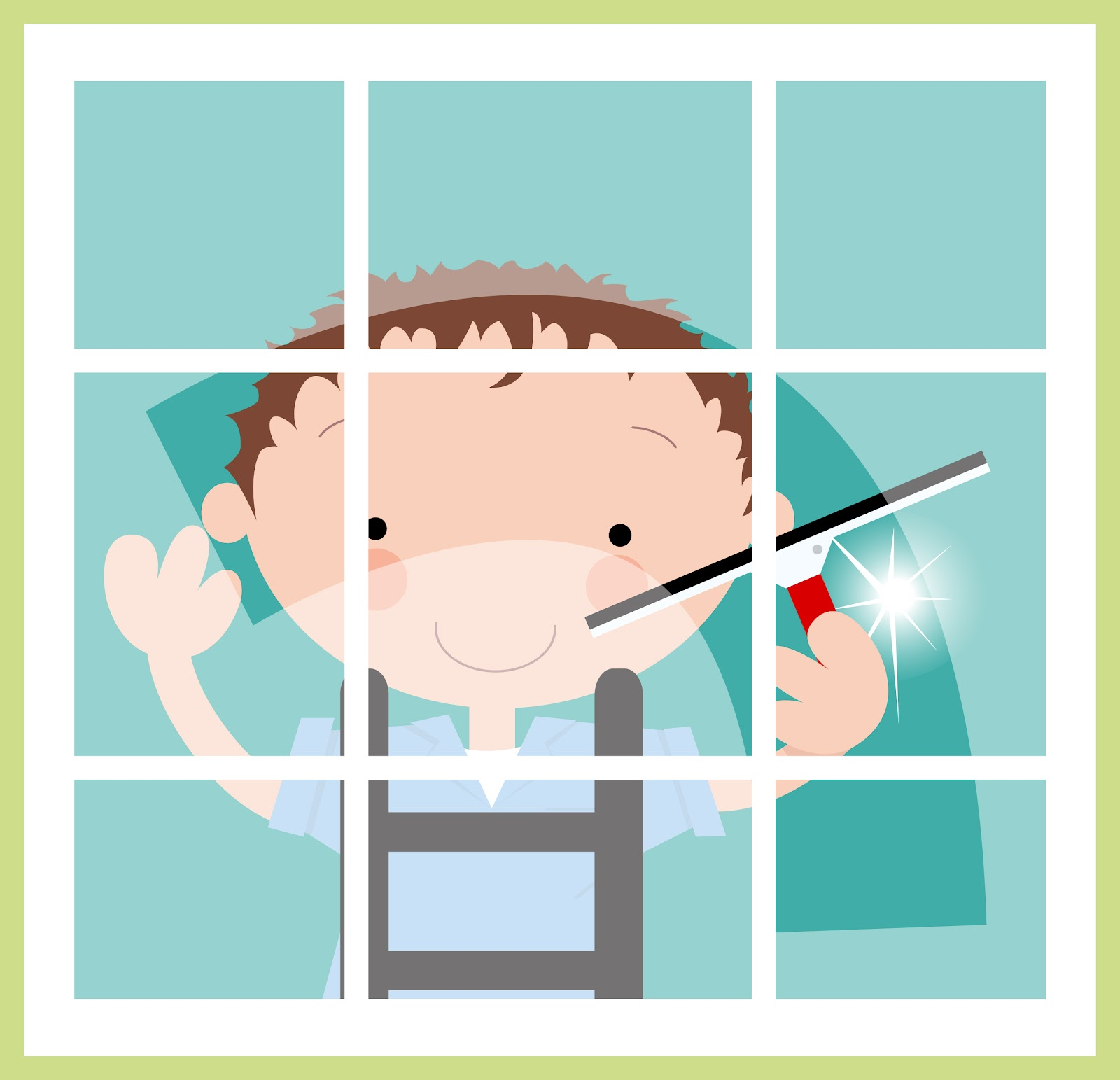 Window cleaning clip art the image kid for Window washing