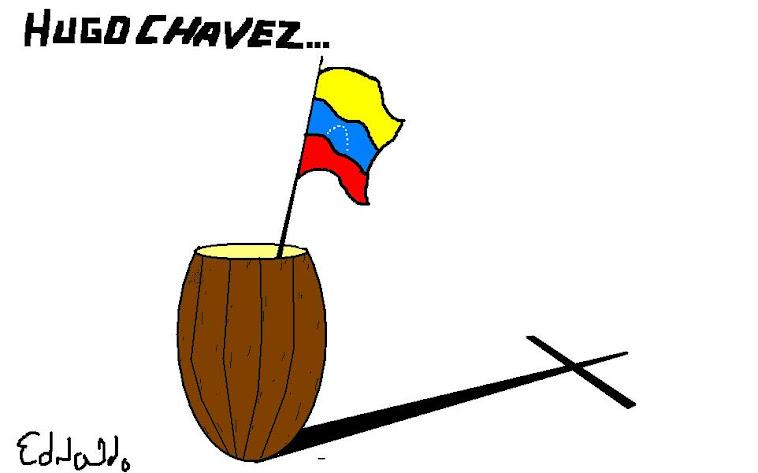 MORRE HUGO CHAVEZ.