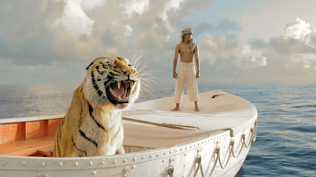 L'Odyssée de Pi est un film d'aventure américain co-produit et réalisé par Ang Lee et sorti en 2012. C'est l'adaptation du roman à succès Histoire de Pi de Yann Martel.