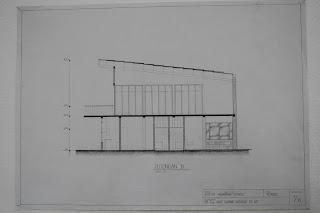 Sketsa Rumah Minimalis 2 lantai modern