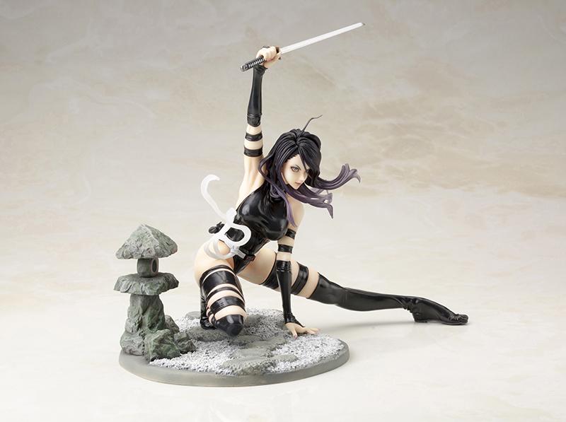 psylocke figure marvel bishoujo xmen shunya yamashita