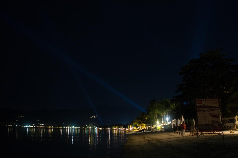 Romantic places on Samui, Mini Bar view at night, Chaweng Beach at night, pretty, beautiful, stunning