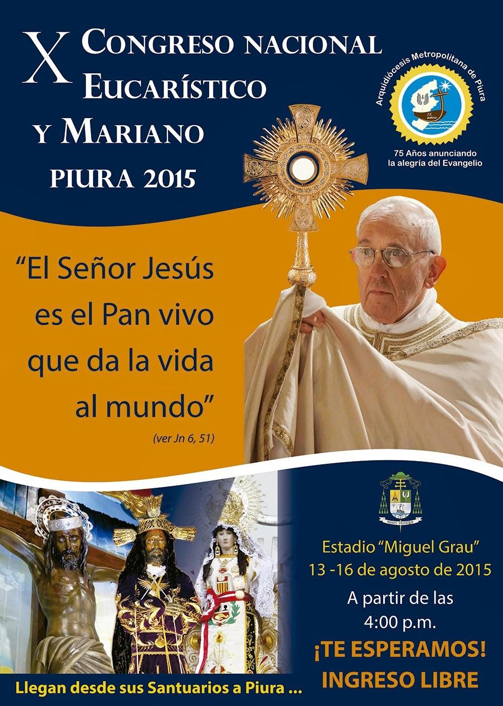 X Congreso Eucarístico y Mariano  2015
