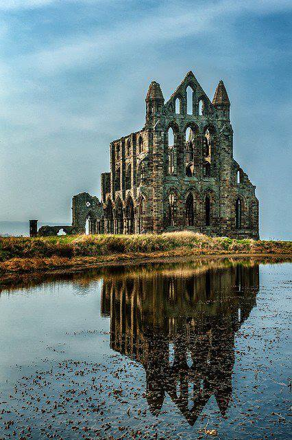 Abadía de Whitby en Inglaterra