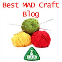 Badge for Best MAD Craft Blog