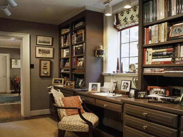 Home office ideas on a budget for Office decoration photos