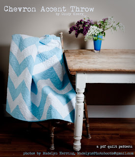 Chevron Accent Throw