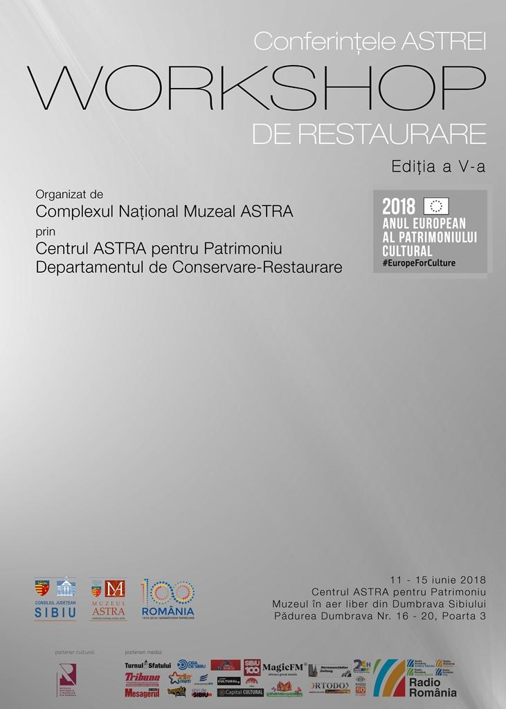 Conferințele ASTREI. Workshop de restaurare la Muzeul ASTRA, Ediția a V-a