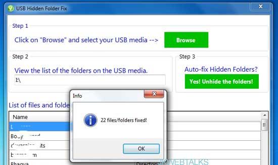 HFV (Hidden Folder Virus) Cleaner Pro download