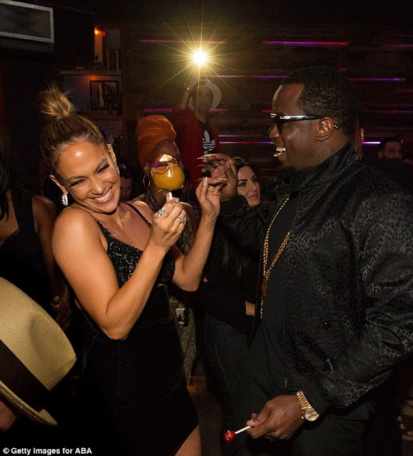 J LO and P diddy